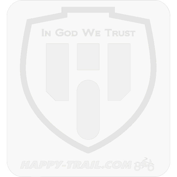 Happy Trails T1<br> Luggage Plate<br>Kawasaki KLR650A '87-'07